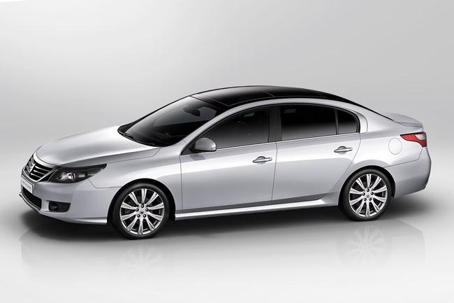 Renault Latitude lateral