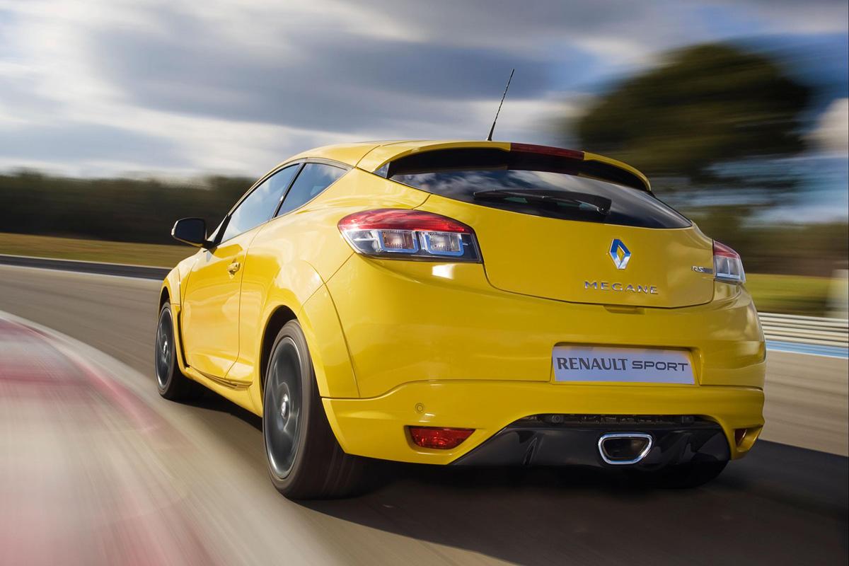 Renault Mégane Coupé RS trasera
