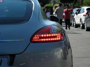 Leds traseros Porsche Panamera