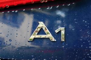 Logotipo Audi A1.