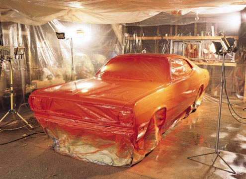 Pasos para pintar tu propio coche - Pasos para pintar una pared ...