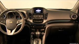 Interior del Chevrolet Orlando