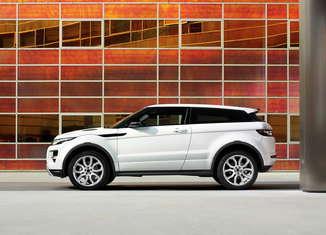 Range Rover Evoque 2011. Vista lateral