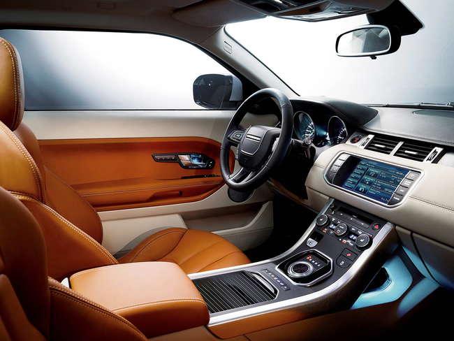 Range Rover Evoque 2009. Interior