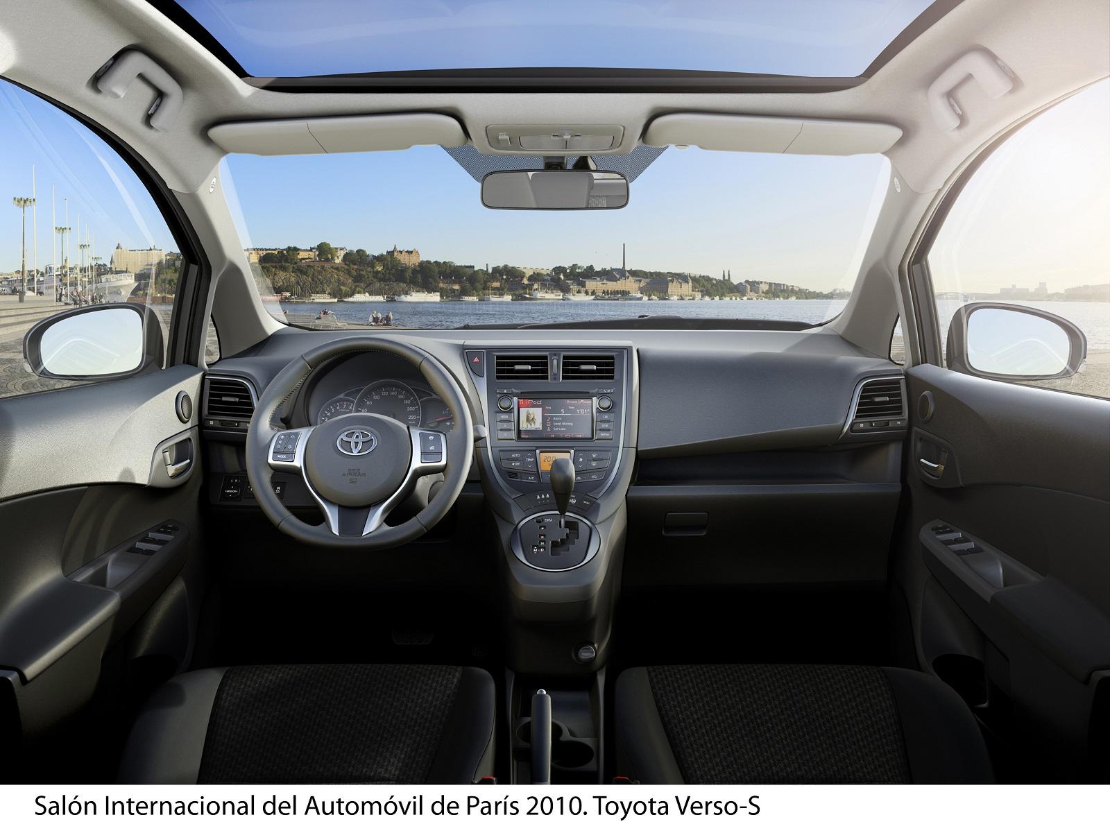 Toyota Verso S 2011 Nuevo Dise 241 O Menor Consumo