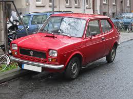 El SEAT 127 comenzó su circulación en 1972.