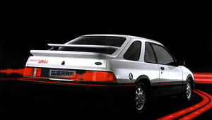 Ford Sierra XR4i de 1983.