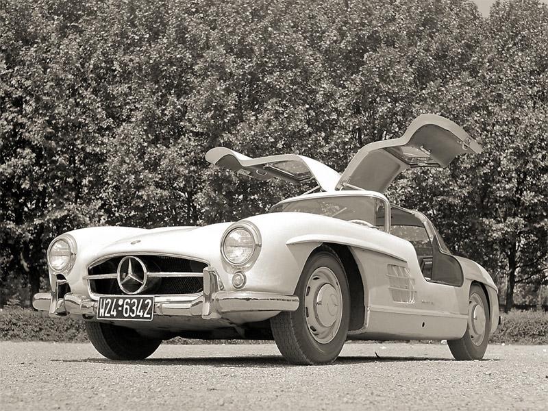 old-mercedes-300-sl
