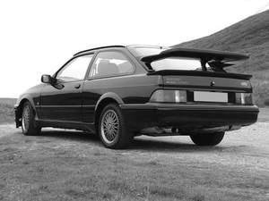 El modelo Ford Sierra nació en 1981.