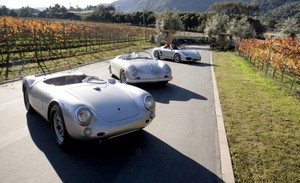 550 Spyder (1955), 356 Speedster (1956), Boxster Spyder (2011)