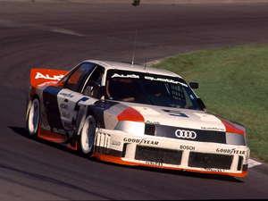 Audi también participó en la TrasAm americana