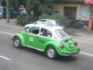 El Escarabajo fue el modelo taxi por excelencia.