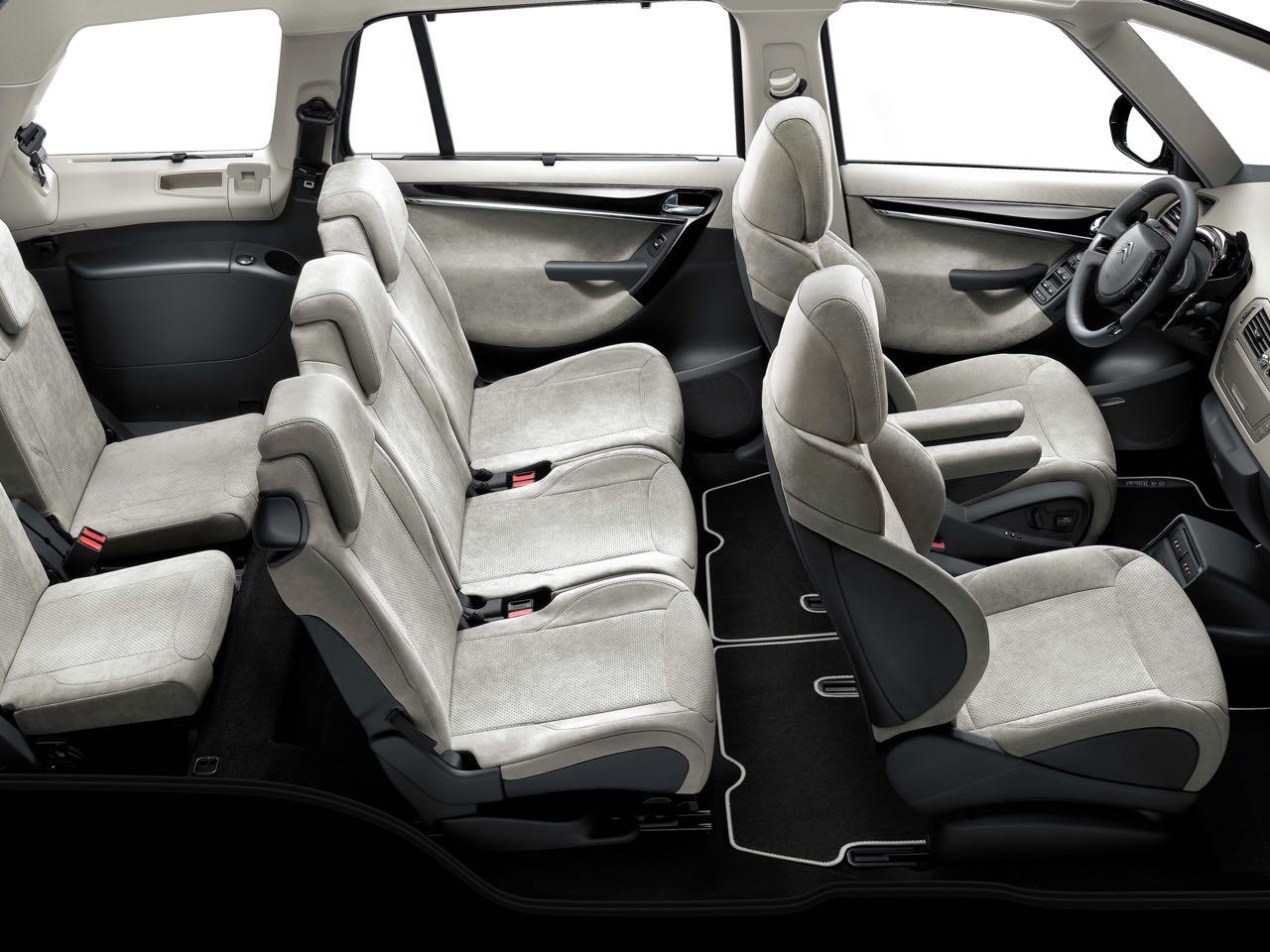 Citro n c4 grand picasso 2011 precios motores equipamientos - Citroen c4 grand picasso interior ...