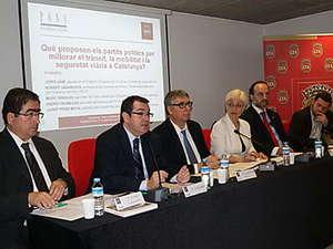 Debate electoral sobre seguridad vial