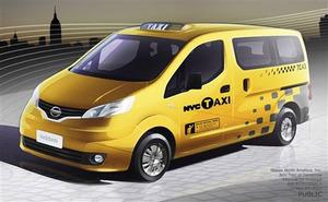 Segunda propuesta, un derivado del Nissan NV200 Evalia.