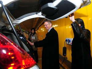 Contarán con 165 puntos de recarga para vehículos eléctricos