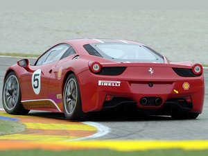 Ferrari 458 Challenge en acción