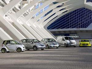 Gama de vehículos eléctricos de Mercedes-Benz