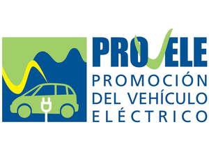 Cartel de la campaña de promoción del vehículo eléctrico