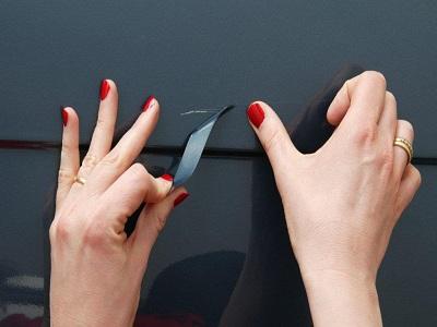 Toyota comercializa unas pegatinas para ara azos for Pegatinas para coches