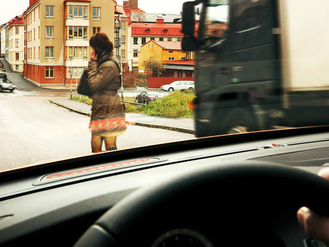 No solo los conductores son culpables de los accidentes...