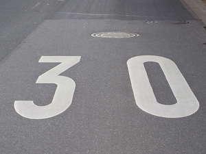 La DGT estudia utilizar señalización en el pavimento