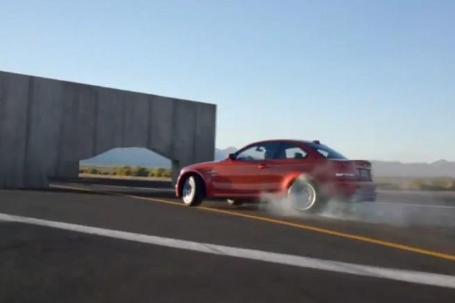 BMW-1M-Coupe-Slalom