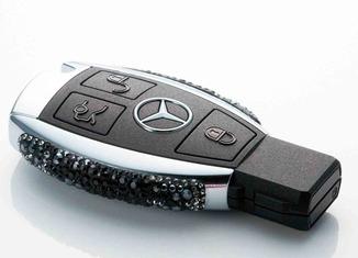 Las llaves de coches más caras del mundo Mercedes-llave-Swarovski-2-650x456