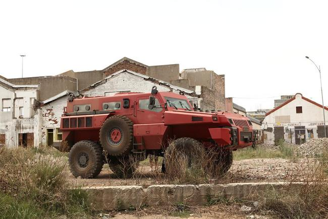 Paramount Group Marauder armored vehicle