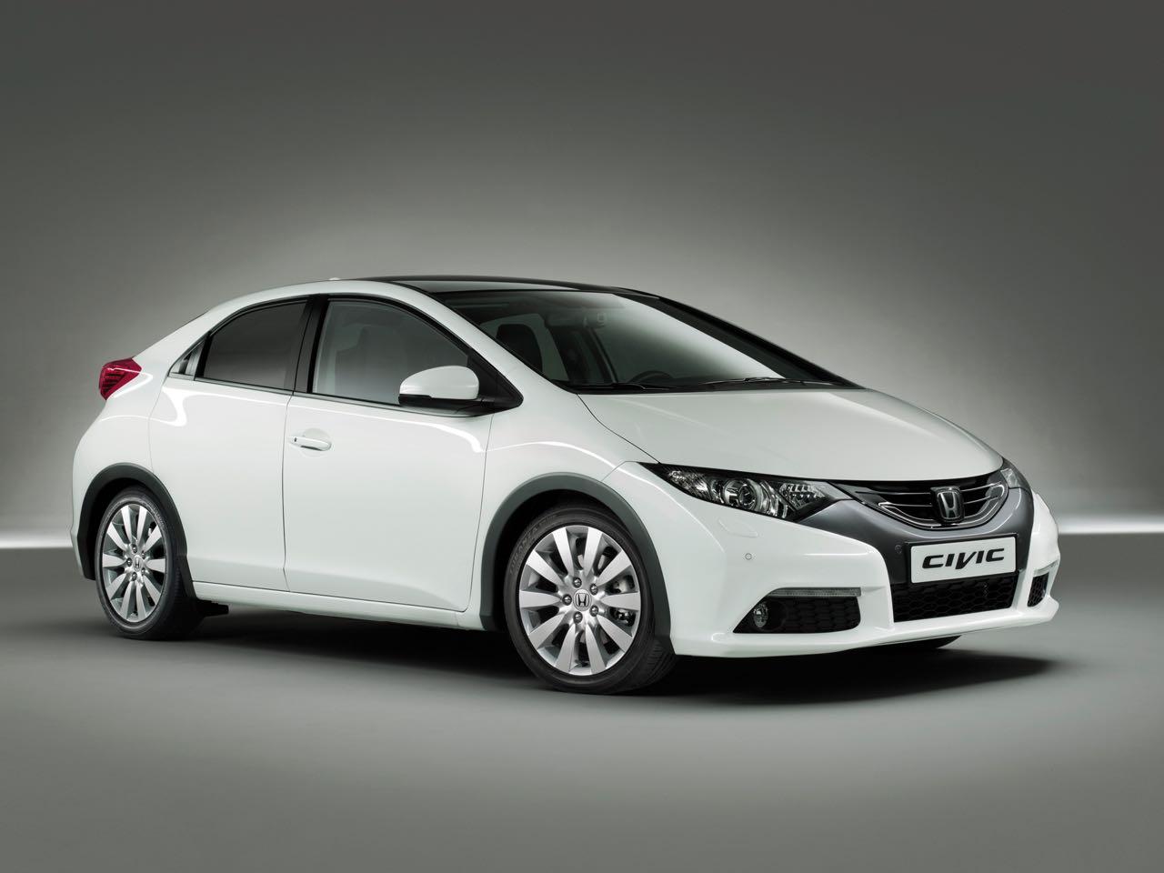 Honda Civic 2012 frontal