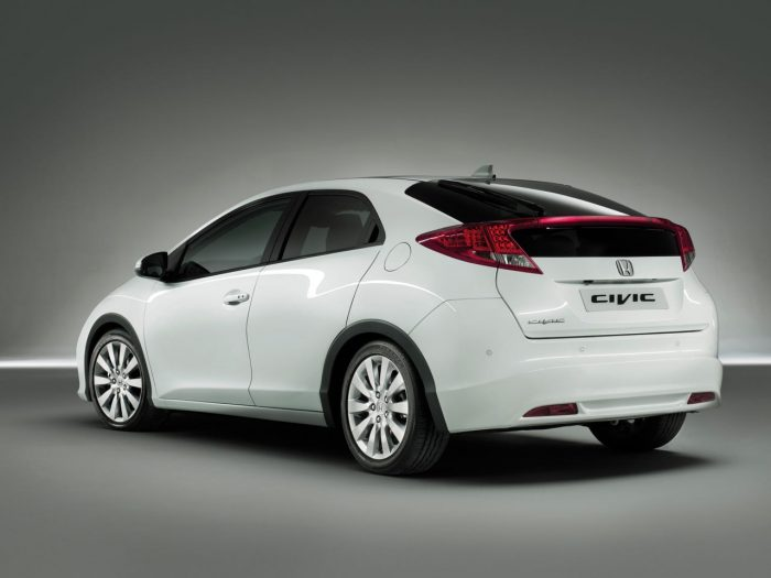 Honda Civic 2012 trasera