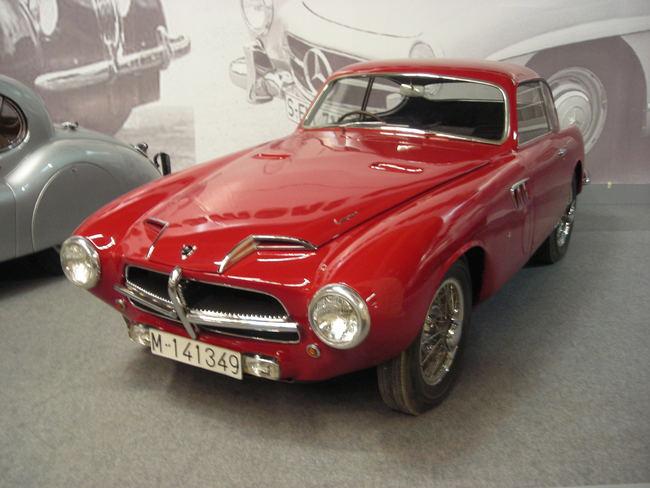 Pegaso Z-102 : el coche español más rápido del mundo en 1953 Pegaso_Z102_Touring-650x488
