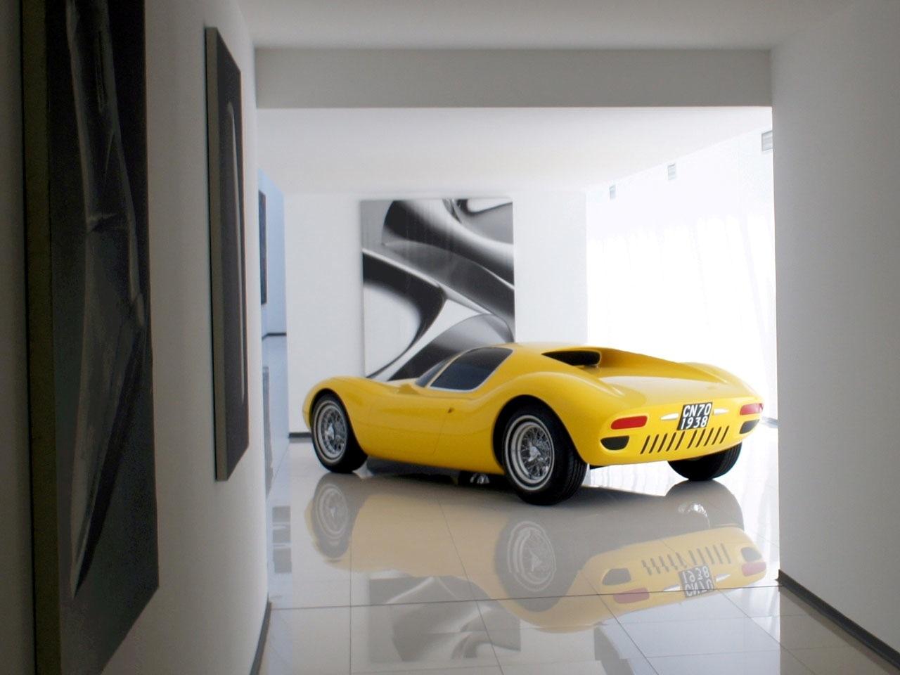 First Lamborghini by Giugiaro