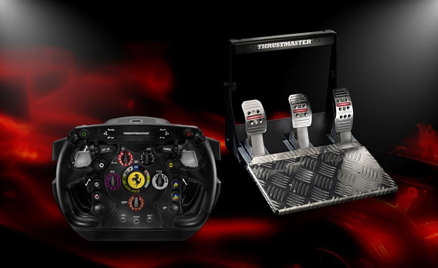 Ferrari F1 volante y pedales 5