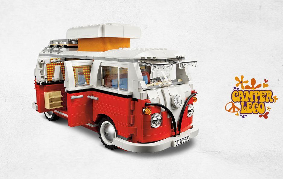 As 237 Se Monta La Volkswagen Camper De Lego