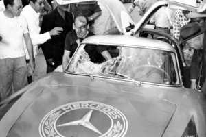 En la Carrera Panamericana histórica los accidentes eran comunes y provocaron su final...