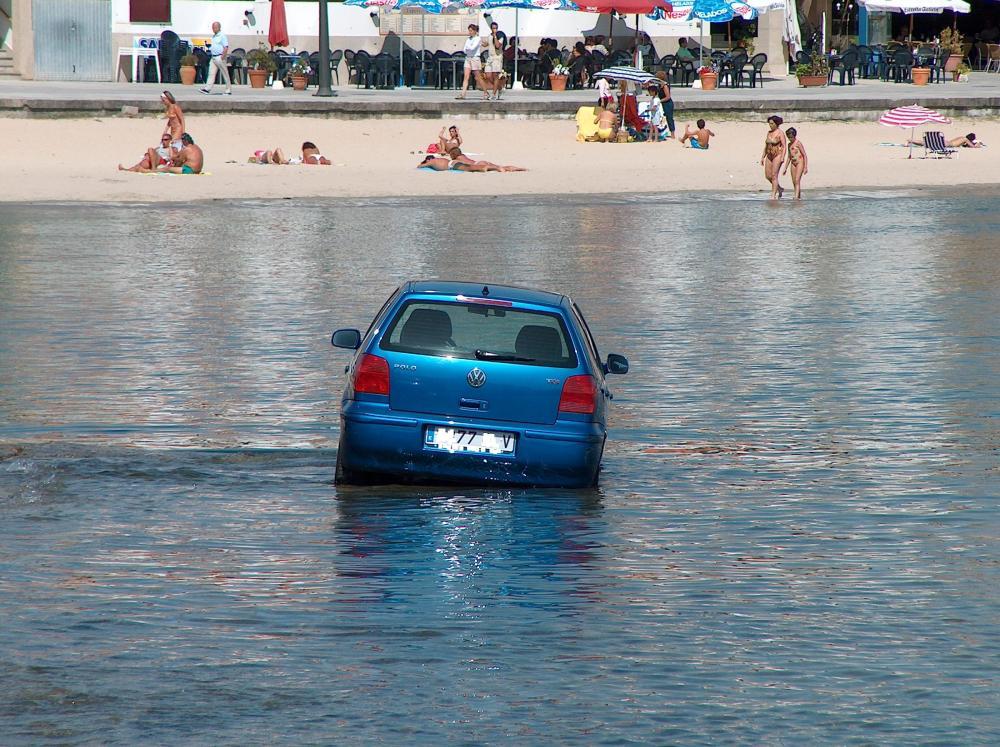 coche agua