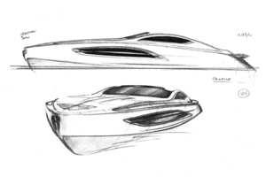 Algunos de los diseños previos a la versión definitiva