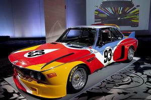El BMW 3.0 CSL, pintado por Alexander Calder, fue el primero de la colección