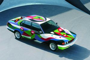 """BMW 730i, decorado por """"nuestro"""" César Manrique"""
