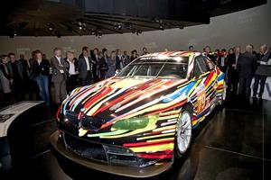 El BMW M3 GT2 de Jeff Koons es, por ahora, el último componente de la BMW Art Collection
