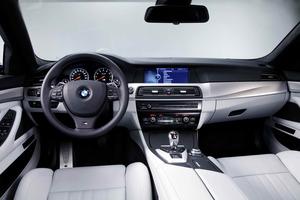 Interior de nuevo BMW M5