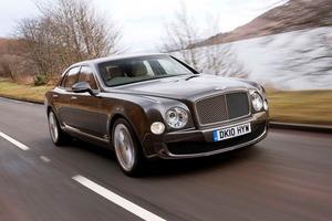 """Bentley Mulsanne, sobre el que se han basado para realizar la """"oficina rodante"""""""