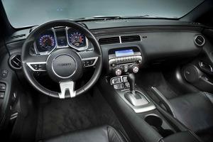 Interior del Chevrolet Camaro
