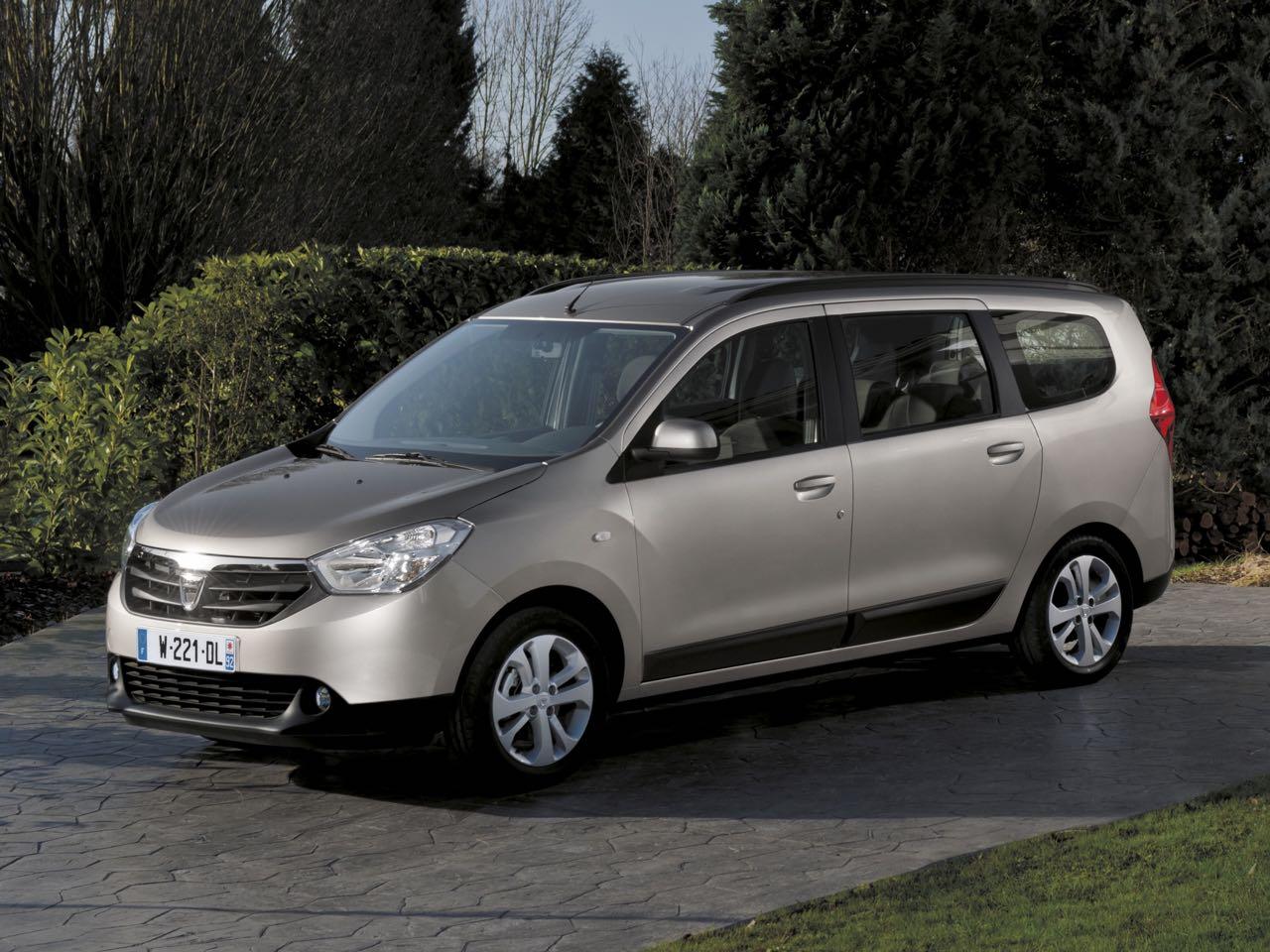 Dacia Lodgy 2012 lateral