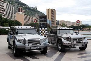 Dos unidades del Dartz Kombat en el Salón Top Marques de Mónaco