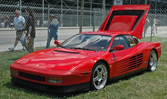 Ferrari Testarossa. Miami Vice