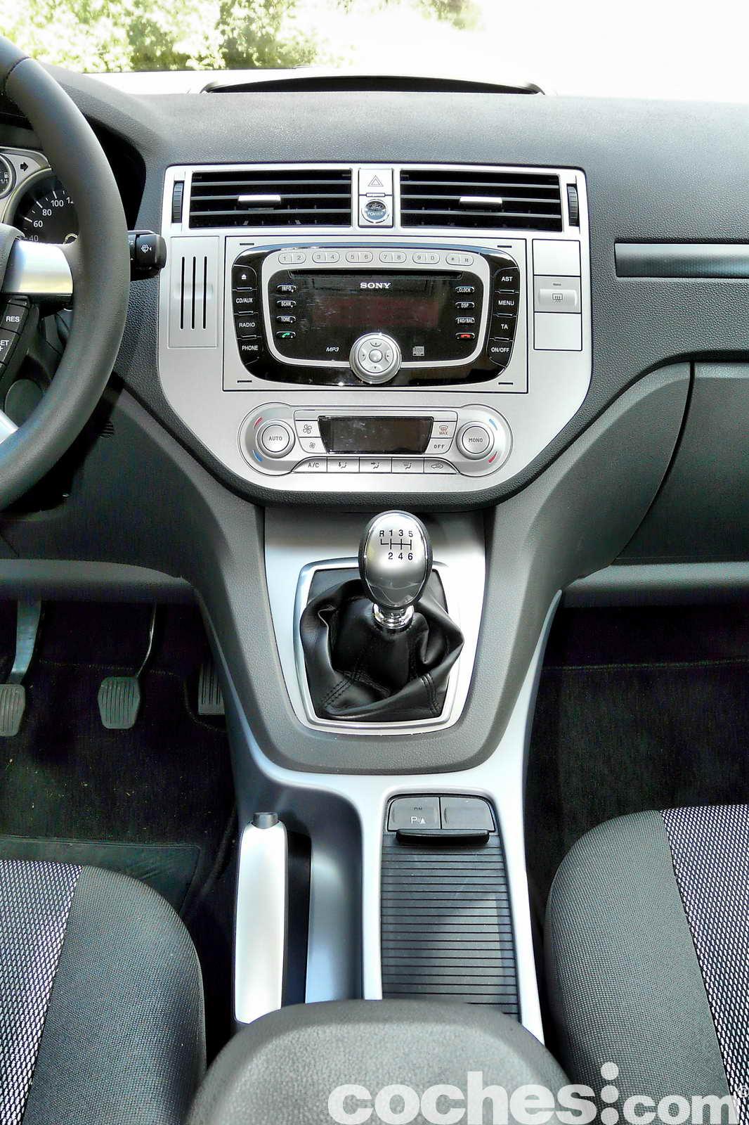 Prueba a fondo ford kuga trend 2 0 tdci 2wd for Interior ford kuga