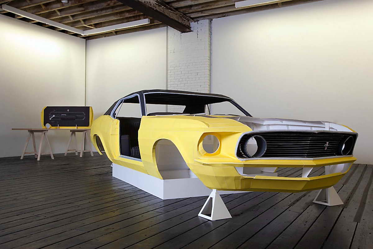 Ford_Mustang_69_Papercraft_01
