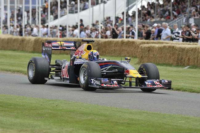 Se pudo ver desde pilotos de F-1, como Mark Webber...